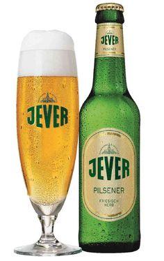 Jever Pilsener, Pilsener 4,9% ABV (Jever (Oetker Group), Alemania)