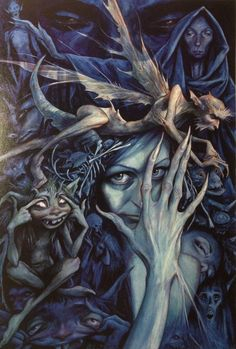 Brian Froud...love this pic...always wanted it for a tattoo