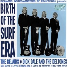 Some people mistakenly credit the Beach Boys  for surf music