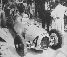 1934 gp de l'acf, montlhry, practice hans stuck (auto union a) dnf 32 laps engine F1 Racing, Racing Team, Hans Joachim Stuck, Audi, Automobile, Auto Union, Vw Group, Westerns, Classic Race Cars