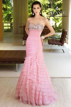 Prom Dresses by Alyce Paris6085Ruffles Rock!