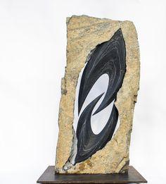 Gallerie - Démian WüstSculpteur Stone Sculpture, Bat Signal, Superhero Logos, Bookends, Home Decor, Art, Marble, Art Background, Decoration Home