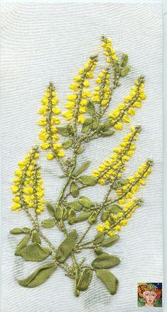 (41) Gallery.ru / Фото #57 - Вышивка лентами-Растения - LudmilaR