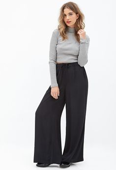 FOREVER 21 crepe palazzo pants