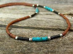 Mens Necklace  Southwest Jewelry  Womens by StoneWearDesigns