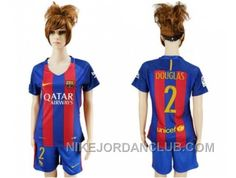 http://www.nikejordanclub.com/womens-barcelona-2-douglas-home-soccer-club-jersey-fktn7.html WOMEN'S BARCELONA #2 DOUGLAS HOME SOCCER CLUB JERSEY FKTN7 Only $20.00 , Free Shipping!