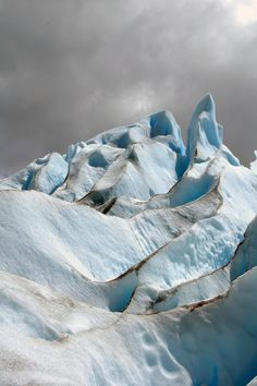 Perito Moreno, Patagonia, Argentina. (by Marie-Laure Even)