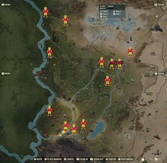 Fallout 76 - All Power Armor Locations Fallout Map, Video Game Art, Video Games, Fallout 4 Power Armor, Fall Out 4, Skyrim, Projects To Try, Geek Stuff, Gaming