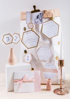 #papeterie Farbgold in Love: Individuelle und liebevolle Hochzeitspapeterie von Farbgold | Hochzeitsblog - The Little Wedding Corner
