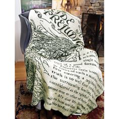 Pride & Prejudice Throw Blanket