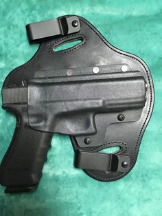 "John Tran says ""Just received the holster today in the mail. First holster I've ever purchased. Did a lot of research and stumbled upon this design of a OWB/IWB. I've got to say I am extremely impressed about the quality and comfort of this holster for my Glock. I will definitely be spreading the word about you guys. I would also like to thank Brian over at HHH to replying to my questions very quickly. Ordered my holster on Saturday and said 1-2 weeks. Received it sooner than I expected."