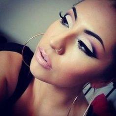 Eye makeup, pretty, cut crease by Raelynn8
