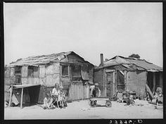 Mays Avenue Camp - Oklahoma City 1939 (Photos by Russell Lee)