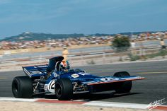 Francois Cevert - Tyrrell 002 (Ford) - 1971 - French GP