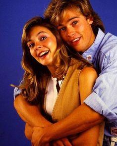 Brad Pitt and Shalane McCall 1987   Follow me @filmatic for...
