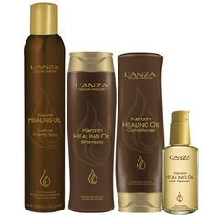 My new fave shampoo/conditioner/oil: L'ANZA Keratin Healing Oil collection. Makes your hair feel AMAZING!!
