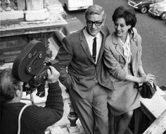 Michael Caine and Sue Lloyd, 1964.