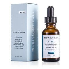 C+AHA Exfoliating Antioxidant Treatment - 30ml-1oz. -A unique 2-in-1 skin care to combat aging skin both inside & out-15% concentration of pure L-ascorbic acid defense skin against UV rays-And stimulate collagen production inside-10% concentration of hydroxyl acids exfoliate surface skin-Makes skin smooth for a more youthful appearance-Infused with glycolic acid & lactic acid to lift away rough outer skin layer-Leaves you a newer, younger-looking skinProduct Line: Night CareProduct Size:...