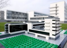 Lego Bauhaus Design Gropius Architecture Movement Berlin Germany