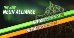 Lacrosse Playground » STX Neon Alliance Shafts
