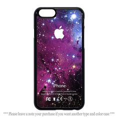 Glitters Purple Galaxy Nebula Print Cover iPhone 4 4s 5 5s 5c 6 6 plus Case #UnbrandedGeneric