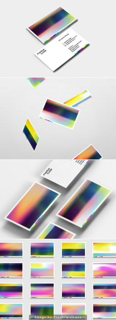 These business cards are highly original and really eye-catching. They are…