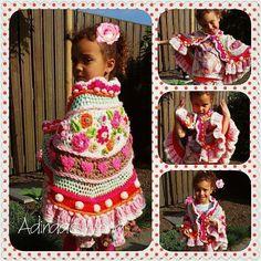 Zo schattig een mini-stola voor een prinsesje #sweet #princess #principessa…