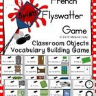 Enjoy an engaging vocabulary building Flyswatter Game to review classroom objects.    Choose the vocabulary words you would like to review. Put a m...