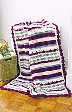 Crochet Chunky Comfort Afghan - Free Pattern