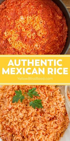 Homemade Mexican Rice, Mexican Rice Recipes, Mexican Cooking, Mexican Dishes With Chicken, Easy Mexican Rice, Vegetarian Mexican Food, Mexican Side Dishes, Bean Recipes, Vegetarian Recipes