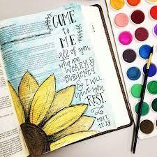 journaling bible ideas and inspiration Art Journaling, Bible Study Journal, Scripture Study, Bible Art, Journal Art, Yoga Journal, Bible Drawing, Bible Doodling, Bible Prayers