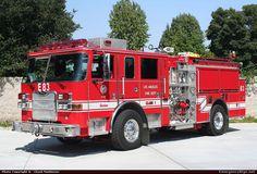 PierceArrow XTPumperLos Angeles Fire DepartmentEmergency Apparatus Fire Truck Photo
