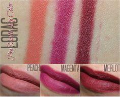 LORAC Fall 2014 Swatches, Looks + Review | via @BlushingNoir @LORAC Cosmetics
