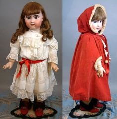 """Huge Stunning Chunky 33"""" Jumeau Bebe French Antique Doll in Classic Antique Costume for the Holidays!!"""