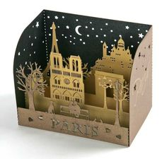 BOOK US on email contact Deluxe invitations, cards and stationery Trendy invitations Invitations & Accessories Engraved… - Kirigami, Pop Up Art, Paper Pop, Diy Paper, Paper Design, Paper Cutting, Art Lessons, Book Art, Miniature