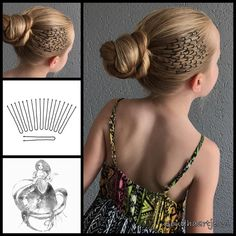 "1,179 Likes, 68 Comments - Goudhaartje (@goudhaartje.nl) on Instagram: ""Twist braid into a bun with a pattern of black hairpins from Goudhaartje.nl (see link in bio,…"""