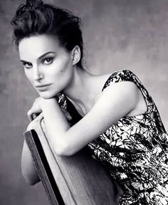 Natalie Portman by Paolo Roversi for Dior