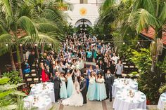 Villa Del Sol Wedding Fullerton Smetona Photo Group photo right after the ceremony!!!!