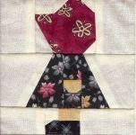 Sunbonnet Sue Paper-pieced Pattern