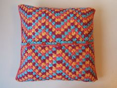 Crochet cushion cover Moroccan style by BabanCat on Etsy