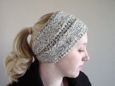 Headbands instead of Hats for winter!