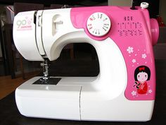 my cute new sewing machine :)