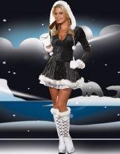 Shiny Black Christmas Costume Item No : W4005B Sales Price : US$ 8.85