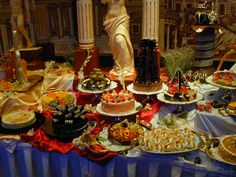 photos of cruise ship food | Such a magnificent display of cruise ship food!