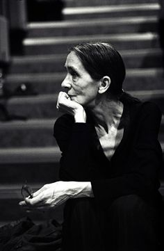 * Pina Bausch photographed by Donata Wenders.