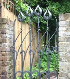 Garden gate by Blacksmith James Price for a Wimbledon garden