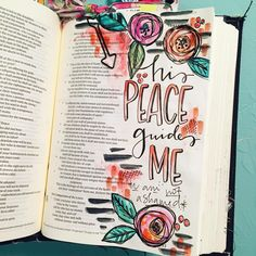 Bible Journaling by @kristenwolbach | Isaiah 54