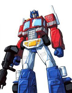 Optimus Prime by Scott Dalrymple Other Words For Evil, Infamous Iron Man, Robot Art, Robots, Transformers Collection, Transformers Optimus Prime, Thundercats, Apocalypse, Videogames