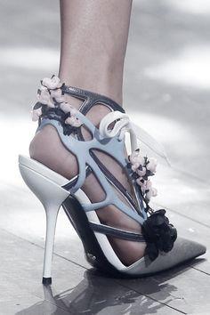 """pivoslyakova: """"Christian Dior, Spring/Summer 2014 shoe detail. """""""