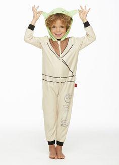 Jammin' Jammies Pajamas Unisex Toddler Star Wars Yoda Onesie With Pillow Case. Matching Pajamas, Star Wars Collection, Holiday Festival, Onesies, Unisex, Stars, Shopping, Fashion, Moda